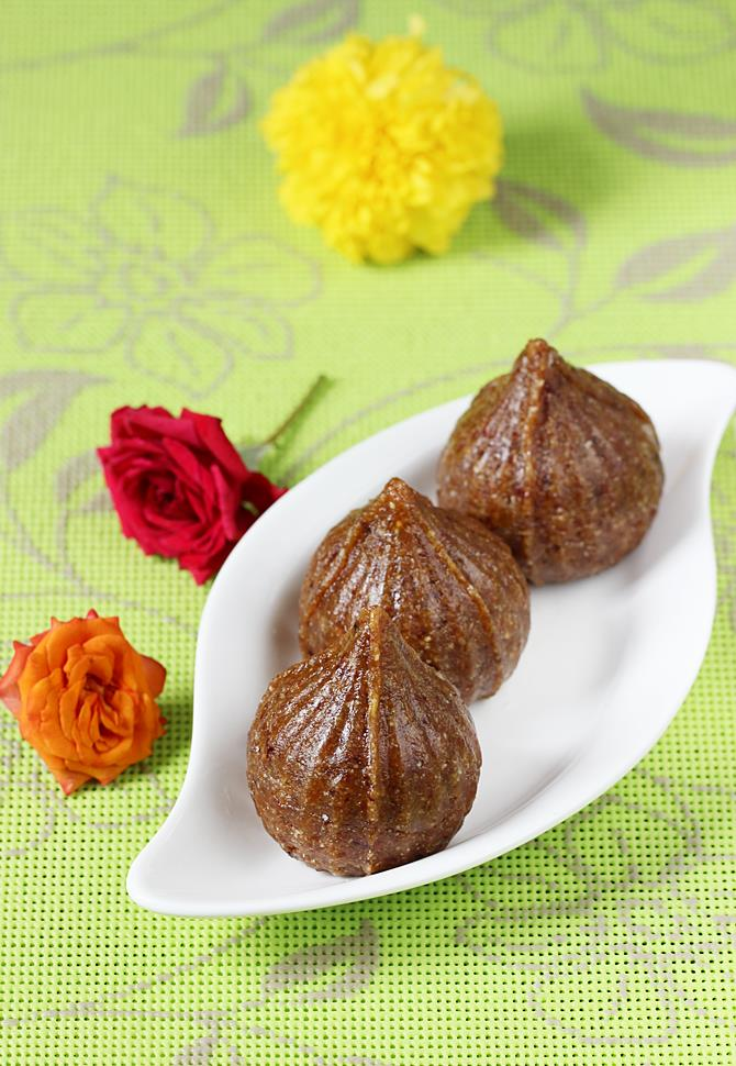 dry fruits modak for ganesh chaturthi