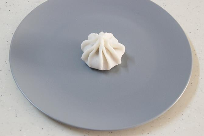 making pleated modakam without mould