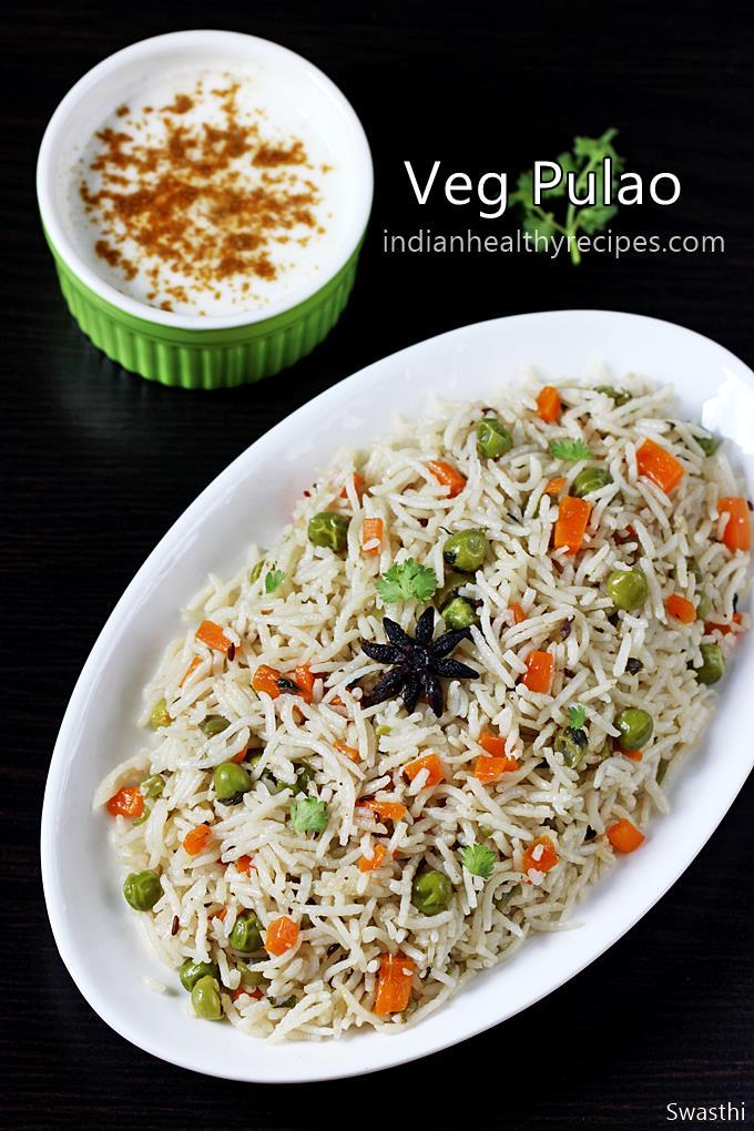 Pulao Recipe Veg Pulao Recipe Vegetable Pulao Pulav Recipe