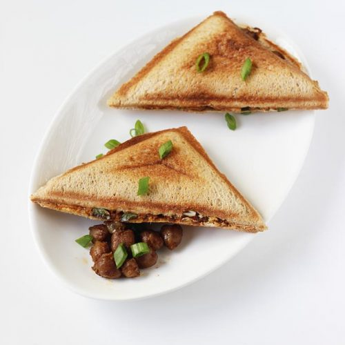 Chana sandwich | Chana masala sandwich recipe