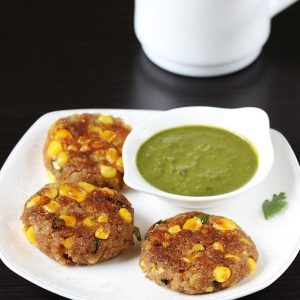 Corn cutlet recipe | Corn patties | How to make corn cutlet
