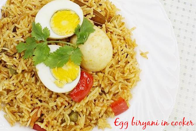 easy egg biryani swasthis recipes