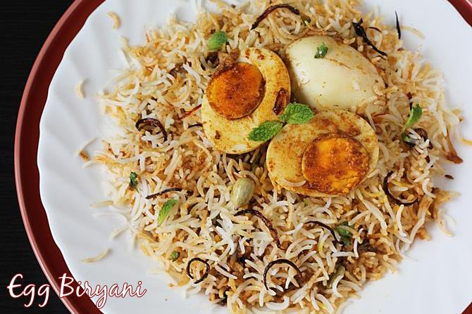 egg biryani recipe swasthis recipes
