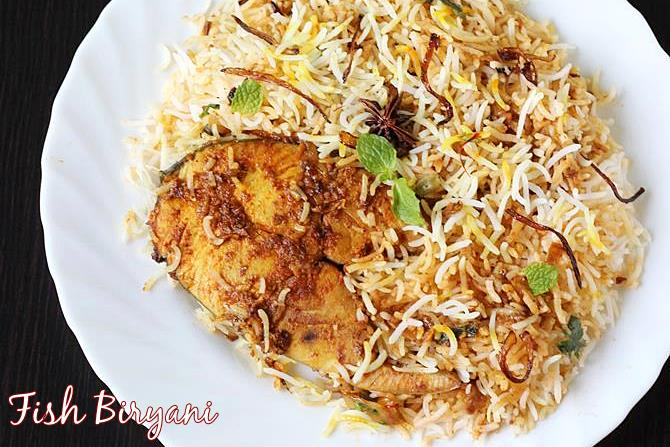 fish biryani swasthis recipes