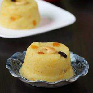 fruit kesari recipe | mixed fruit sheera