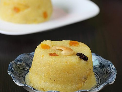 fruit kesari recipe | mixed fruit sheera