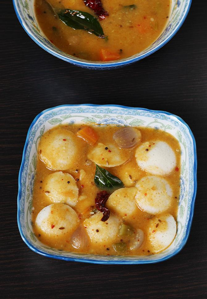 south indian idli sambar recipe