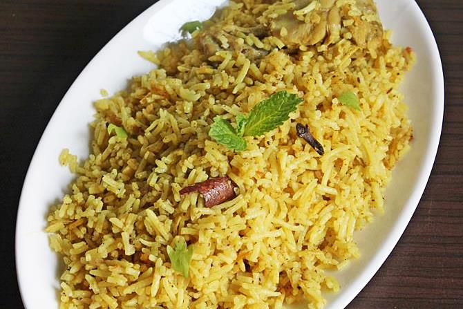 muslim chicken biryani swasthis recipes
