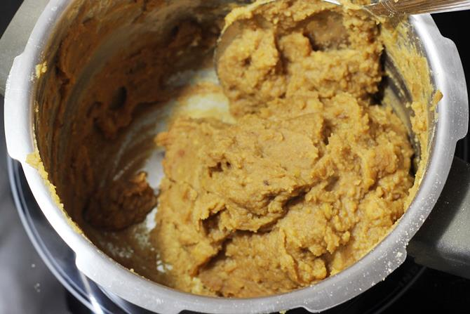 cooking puran for poli recipe