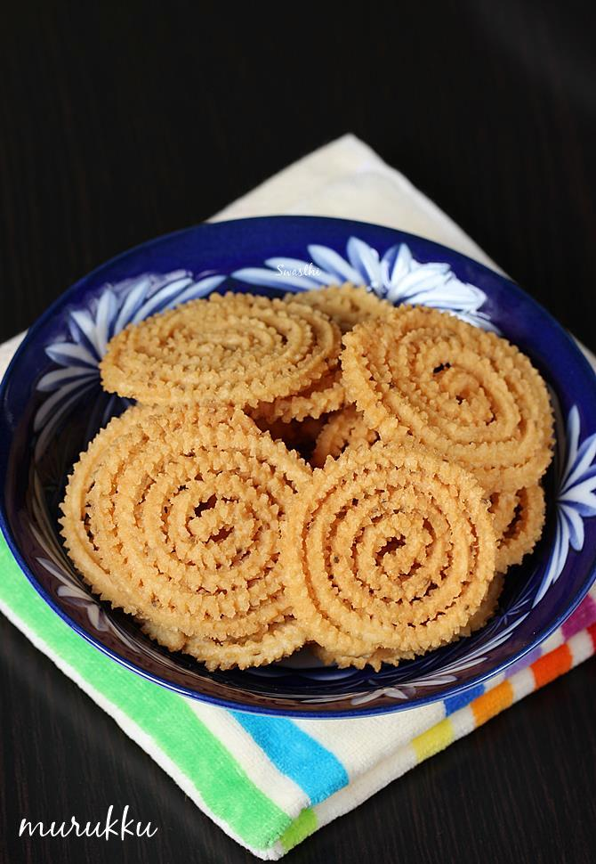 south indian murukku recipe