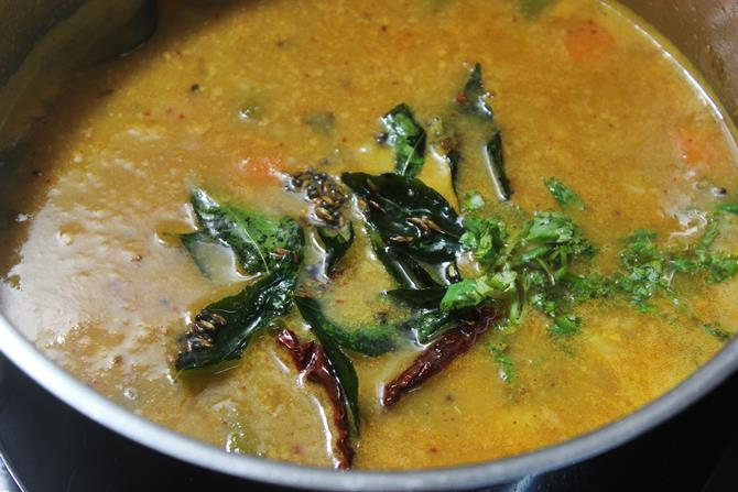 bubbling tiffin sambar