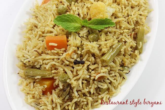 vegetable biryani swasthis recipes