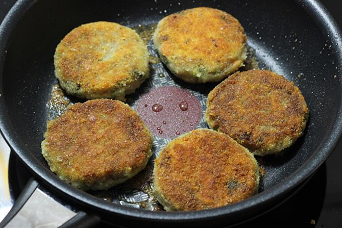 flip and fry veg cutlet
