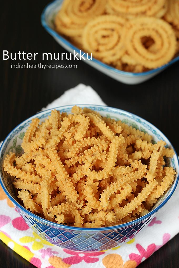 butter murukku is a crunchy festive snack made with rice and gram flour, flavored with butter. #murukku #murukkurecipe #buttermurukku #buttermurukkurecipe