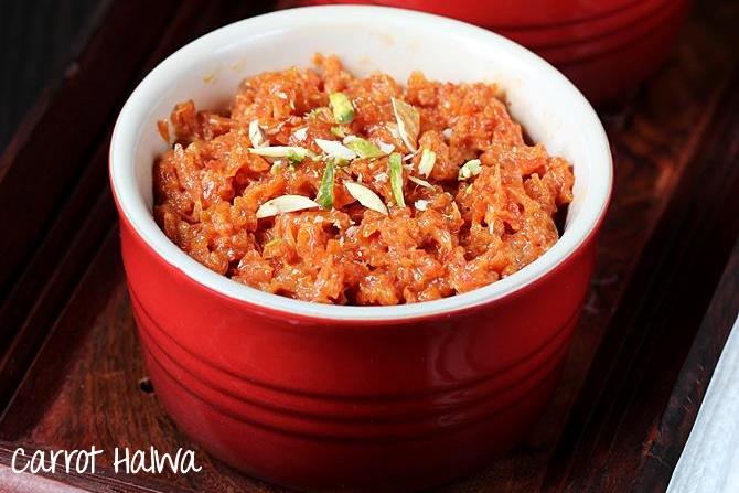 carrot halwa recipes