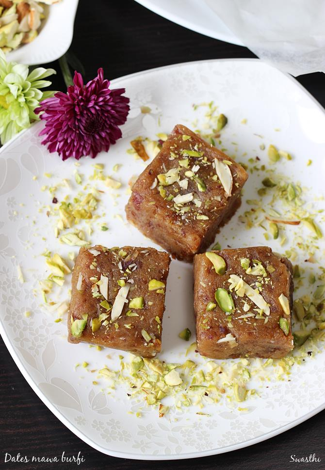dates burfi recipe