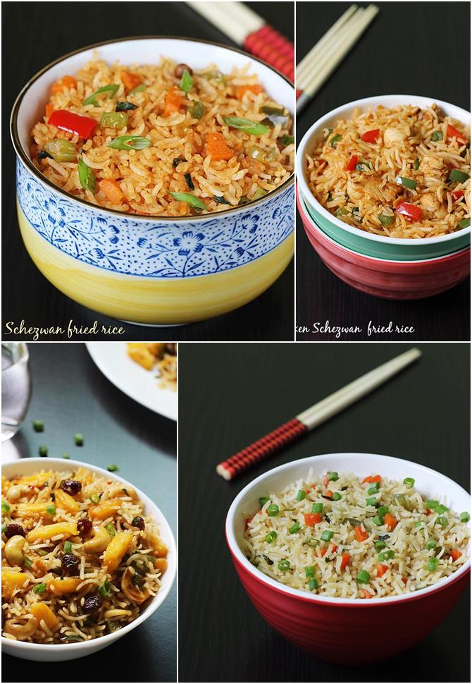 Fried rice recipes collection of 18 simple fried rice recipes fried rice recipes forumfinder Gallery