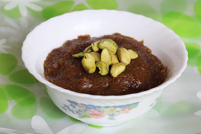 oats-pumpkin-seeds-halwa-recipe