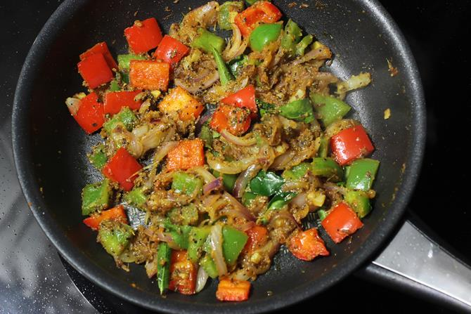 aromatic pepper paneer fry with saunf