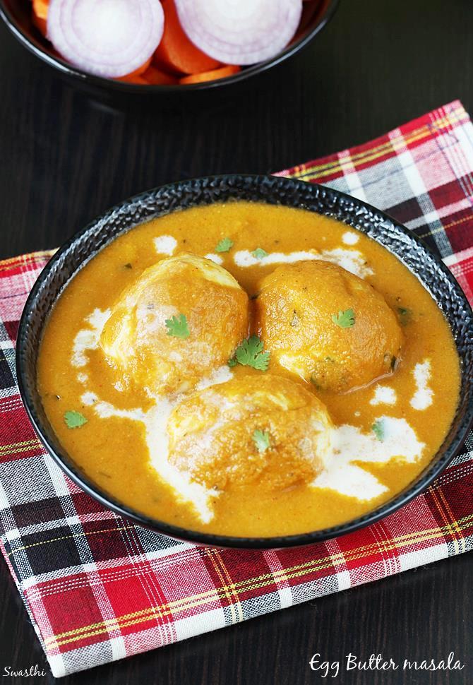 egg makhani recipe