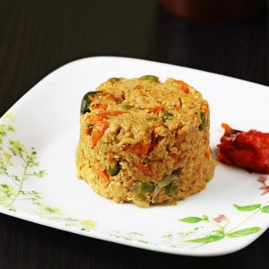 Masala oats recipe | How to make oats masala upma