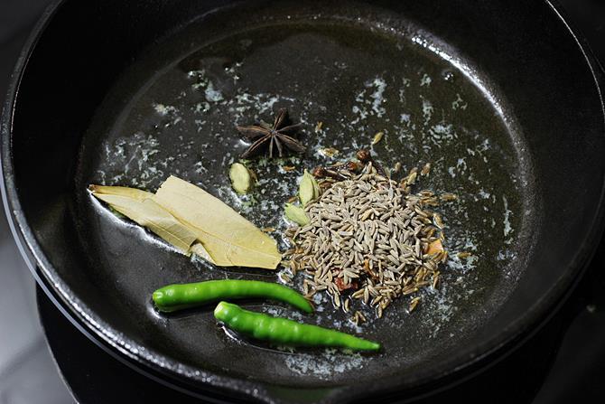 restaurant style jeera rice recipe 04