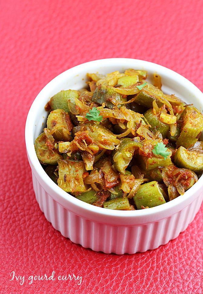 tindora curry