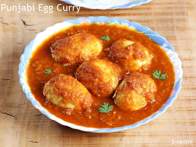 egg curry anda curry