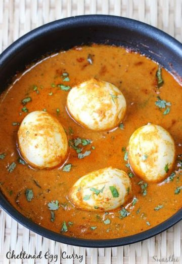 Chettinad egg curry | South Indian egg curry recipes