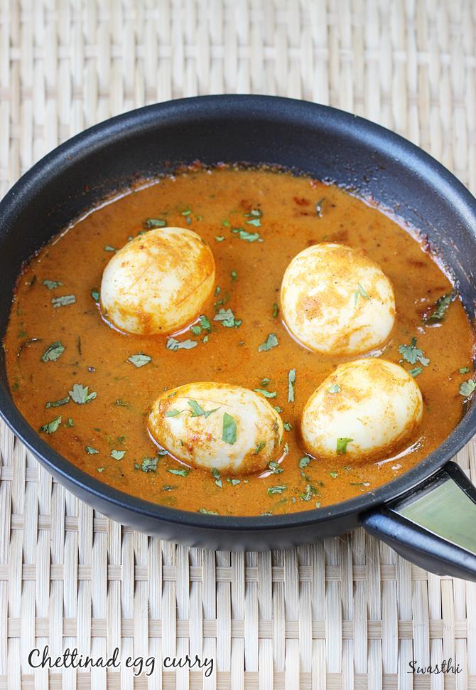 chettinad egg curry recipe