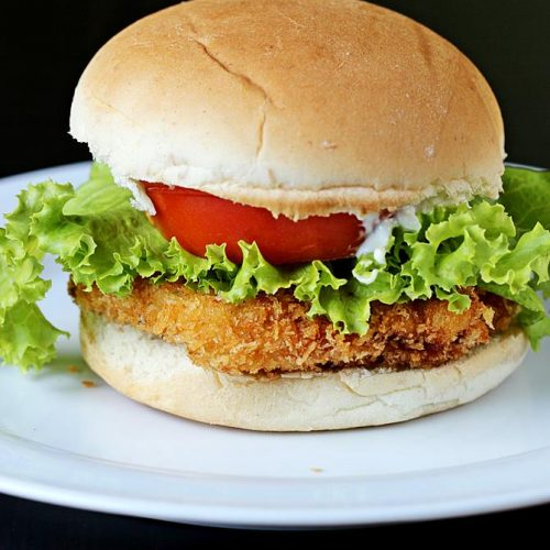 Chicken Burger Recipe Zinger Burger Recipe Kfc Style Chicken Burger