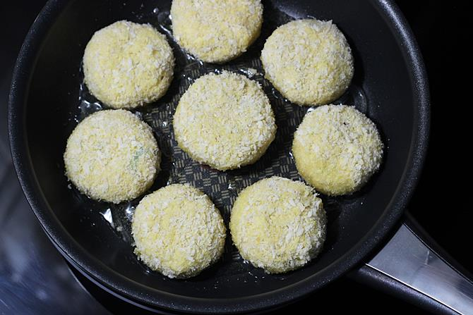 pan frying patty