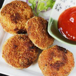 Chicken cutlet recipe | Chicken patties | Chicken tikki recipe