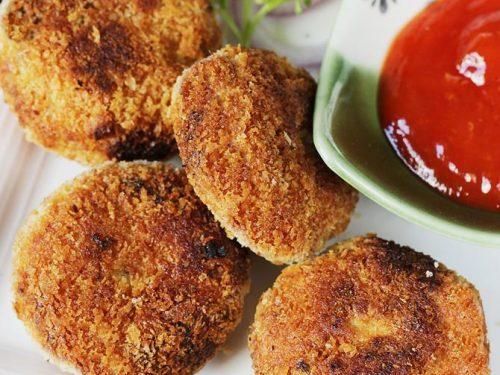Chicken cutlet recipe | Chicken patties | Chicken tikki