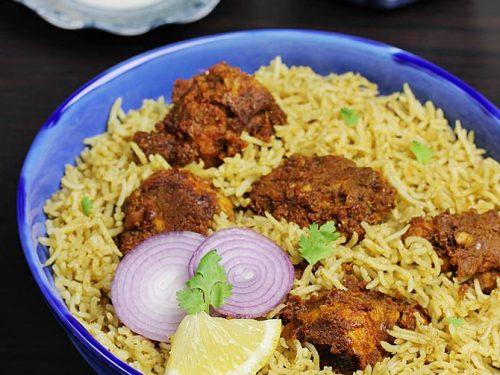 Chicken fry biryani | Andhra style kodi vepudu biryani