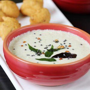 Coconut chutney recipe | How to make coconut chutney for idli dosa