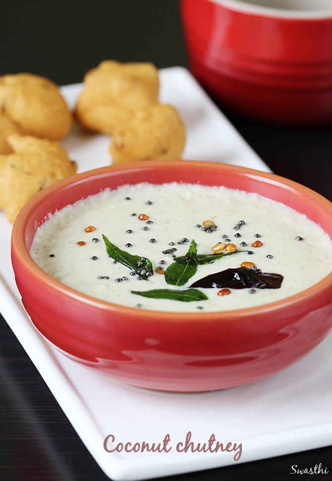coconut chutney recipe for idli dosa