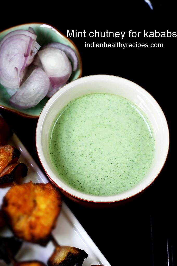 mint chutney for kababs