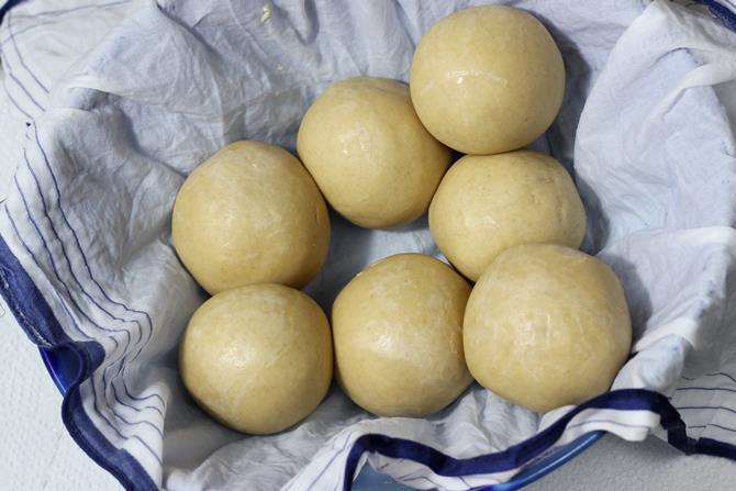 make dough balls