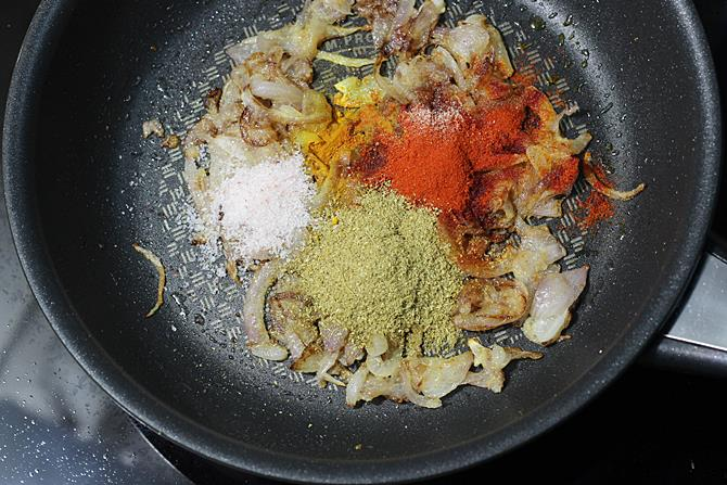 add red chili powder