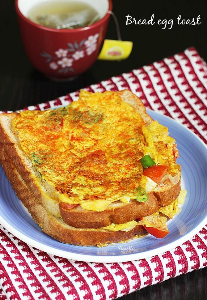 bread toast recipe with egg