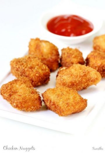 Chicken nuggets recipe   How to make chicken nuggets recipe at home