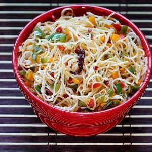 Chilli garlic noodles recipe | Easy Indo chinese noodles recipe