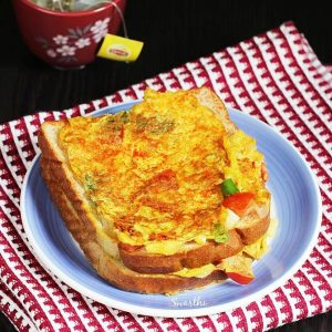 Egg bread toast recipe | Egg toast recipe | Bread toast with egg