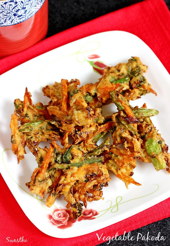 Pakora Recipe Vegetable Pakora How To Make Pakora