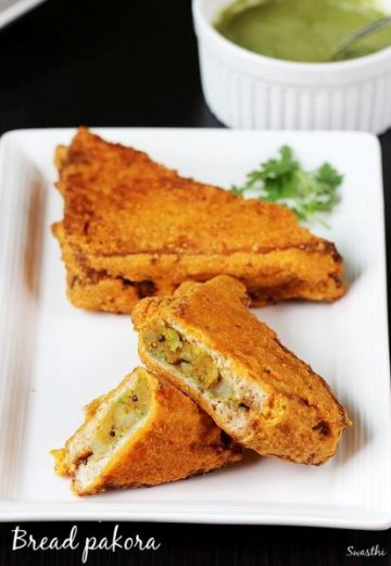 Bread pakora recipe | How to make bread pakora | Bread snacks recipes