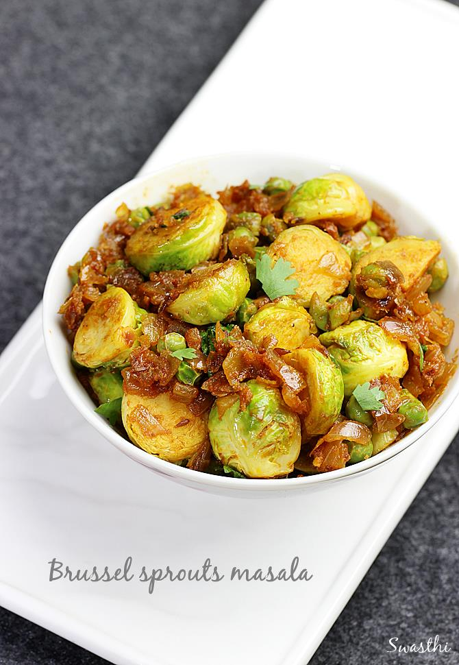 Indian brussel sprouts curry recipe