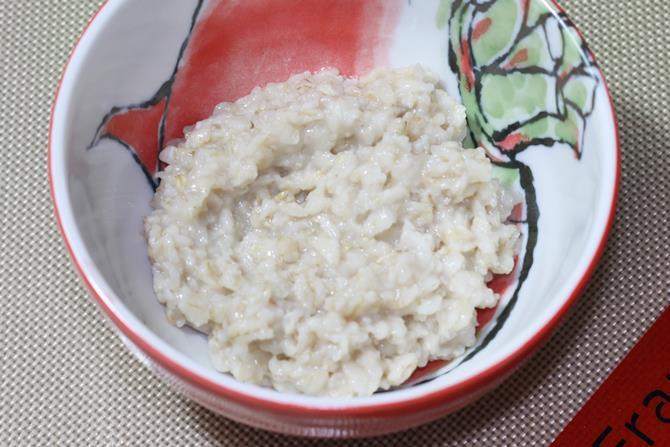cool the oatmeal
