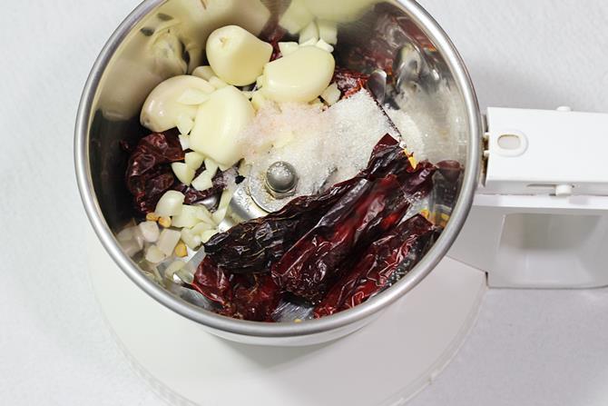 ingredients to make garlic mushroom recipe