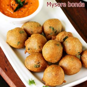 Mysore bonda recipe | How to make mysore bonda